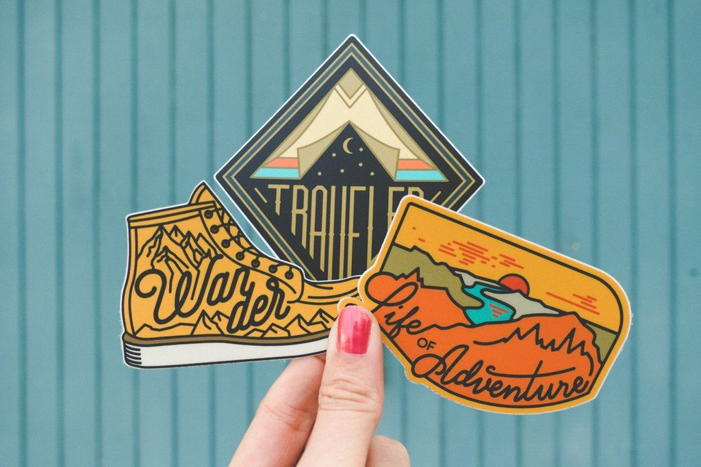 Adventure Sticker Set #1 (3 Set) - The Parks Apparel
