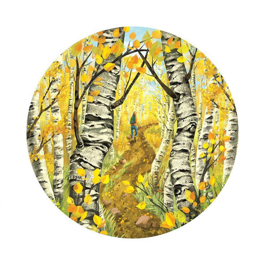 Hike Through the Aspens Sticker - Wondery, A Parks Apparel Brand