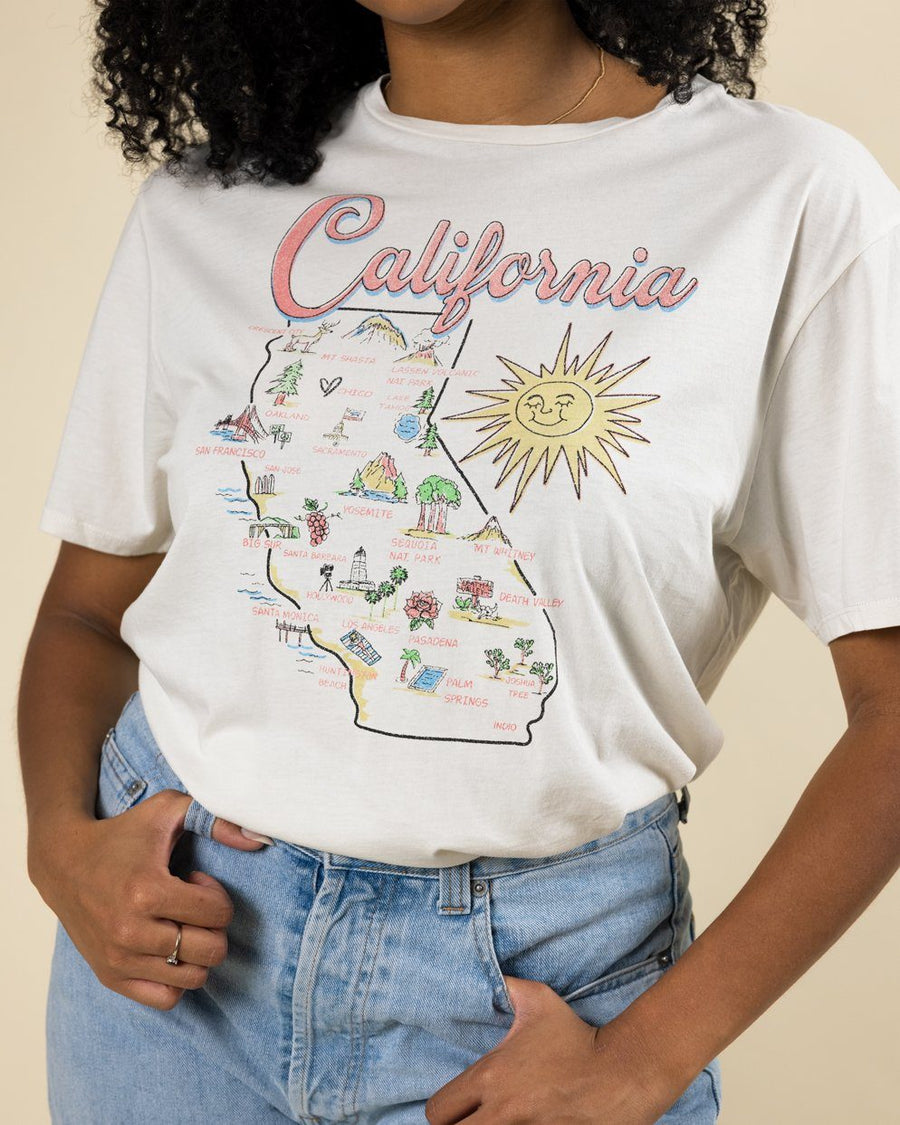 California Map Tee - Wondery, A Parks Apparel Brand