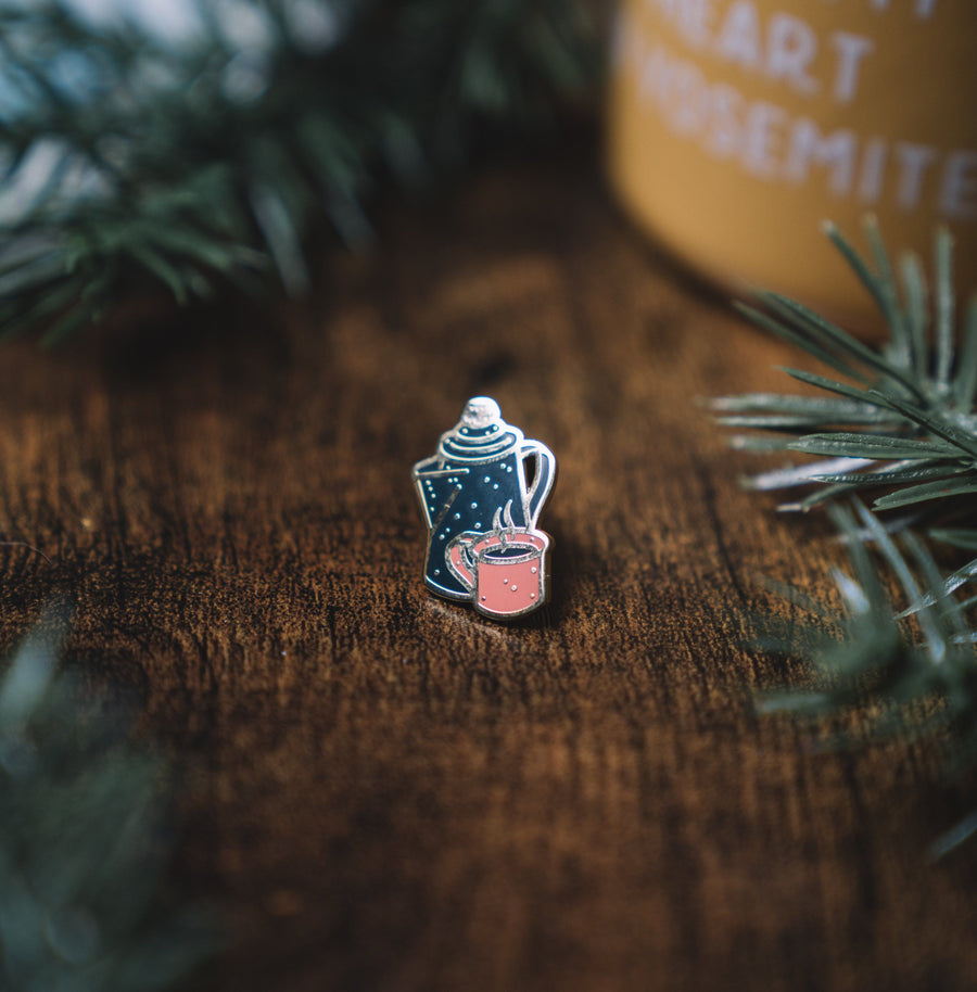 Coffee Pin - Wondery, A Parks Apparel Brand