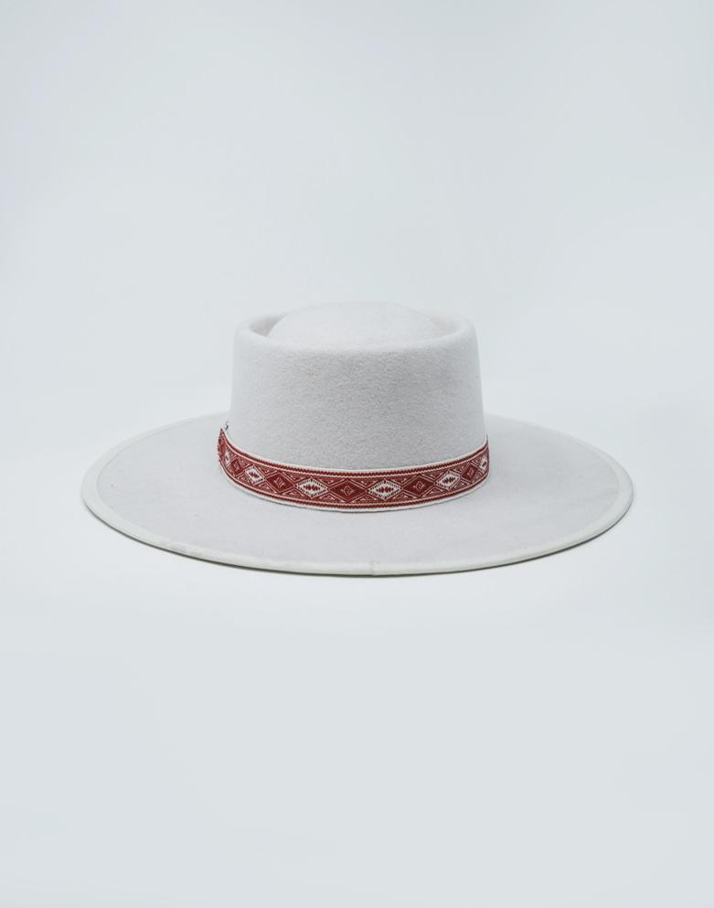 The Connie Wide Brim Hat - Bone - Wondery, A Parks Apparel Brand