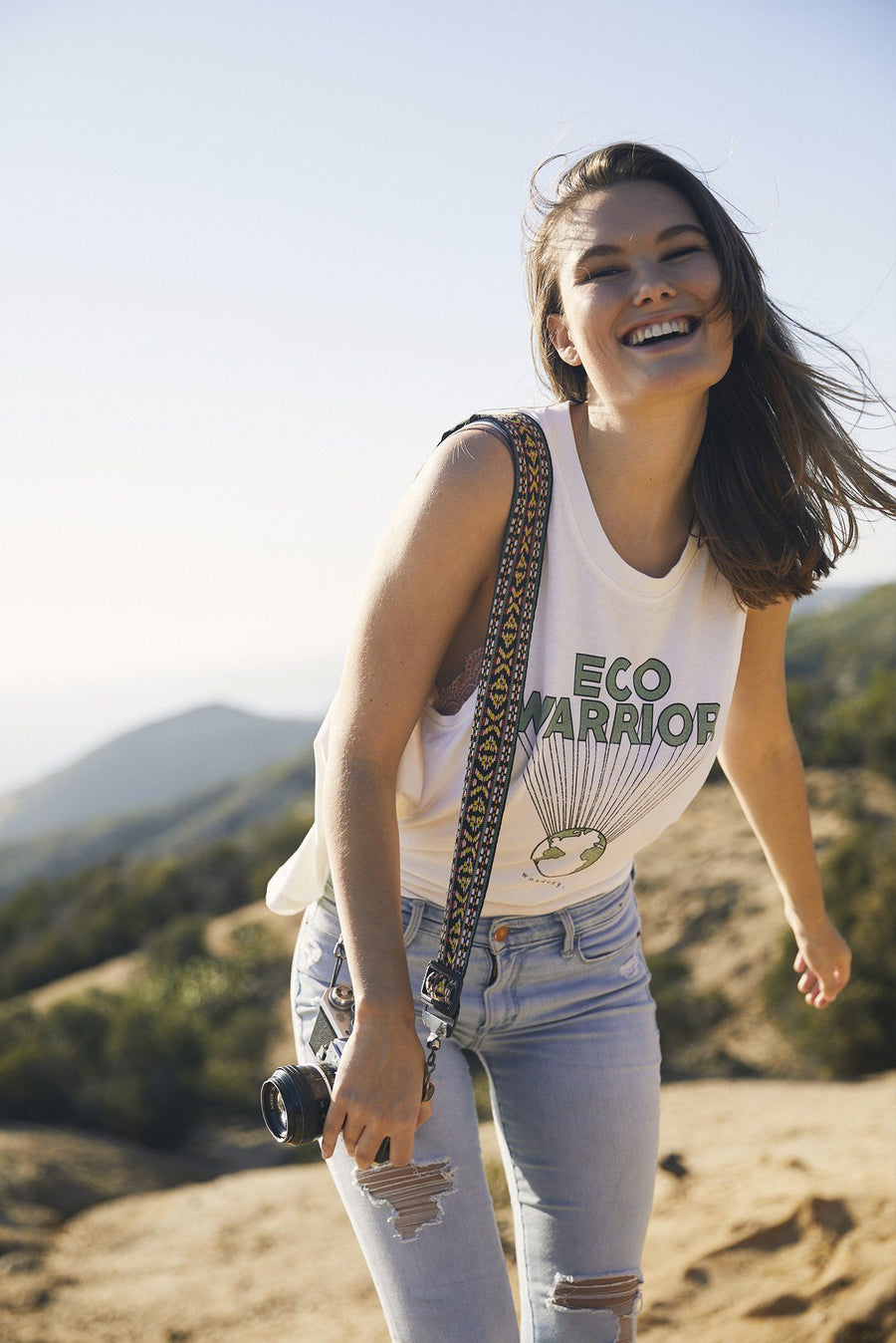 Eco Warrior Tank - Wondery, A Parks Apparel Brand
