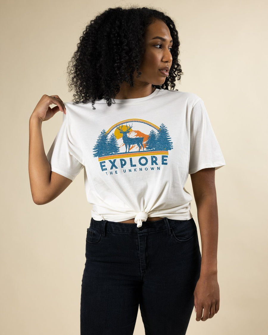 Explore the Unknown Tee - Wondery, A Parks Apparel Brand