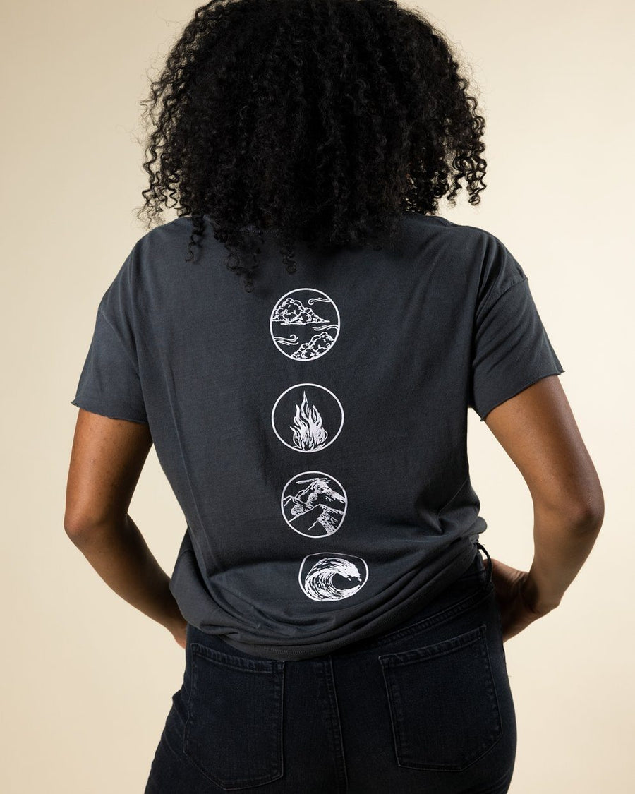 4 Elements Tee - Wondery, A Parks Apparel Brand