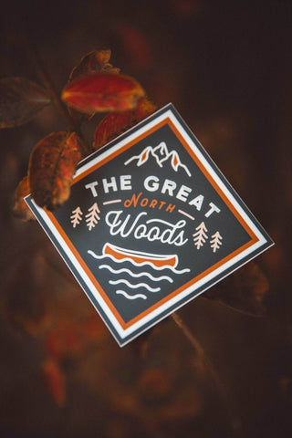The Parks Regions: Great North Woods Sticker