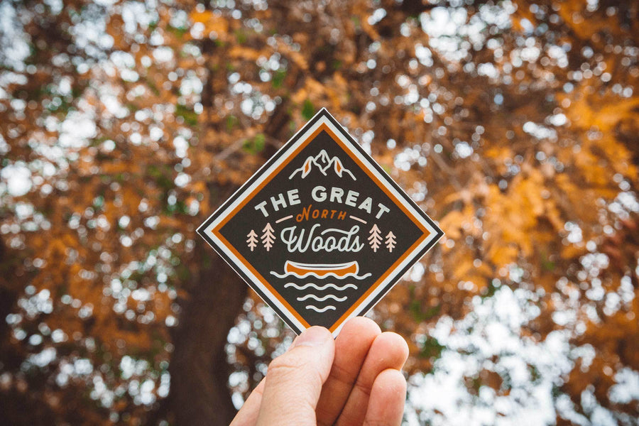 Great North Woods Sticker - Wondery, A Parks Apparel Brand