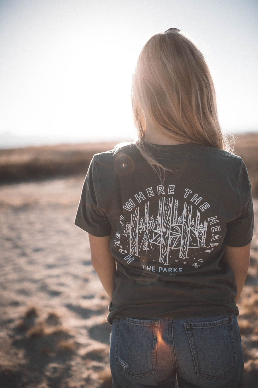 Home Is Where The Heart Is Tee - Wondery, A Parks Apparel Brand