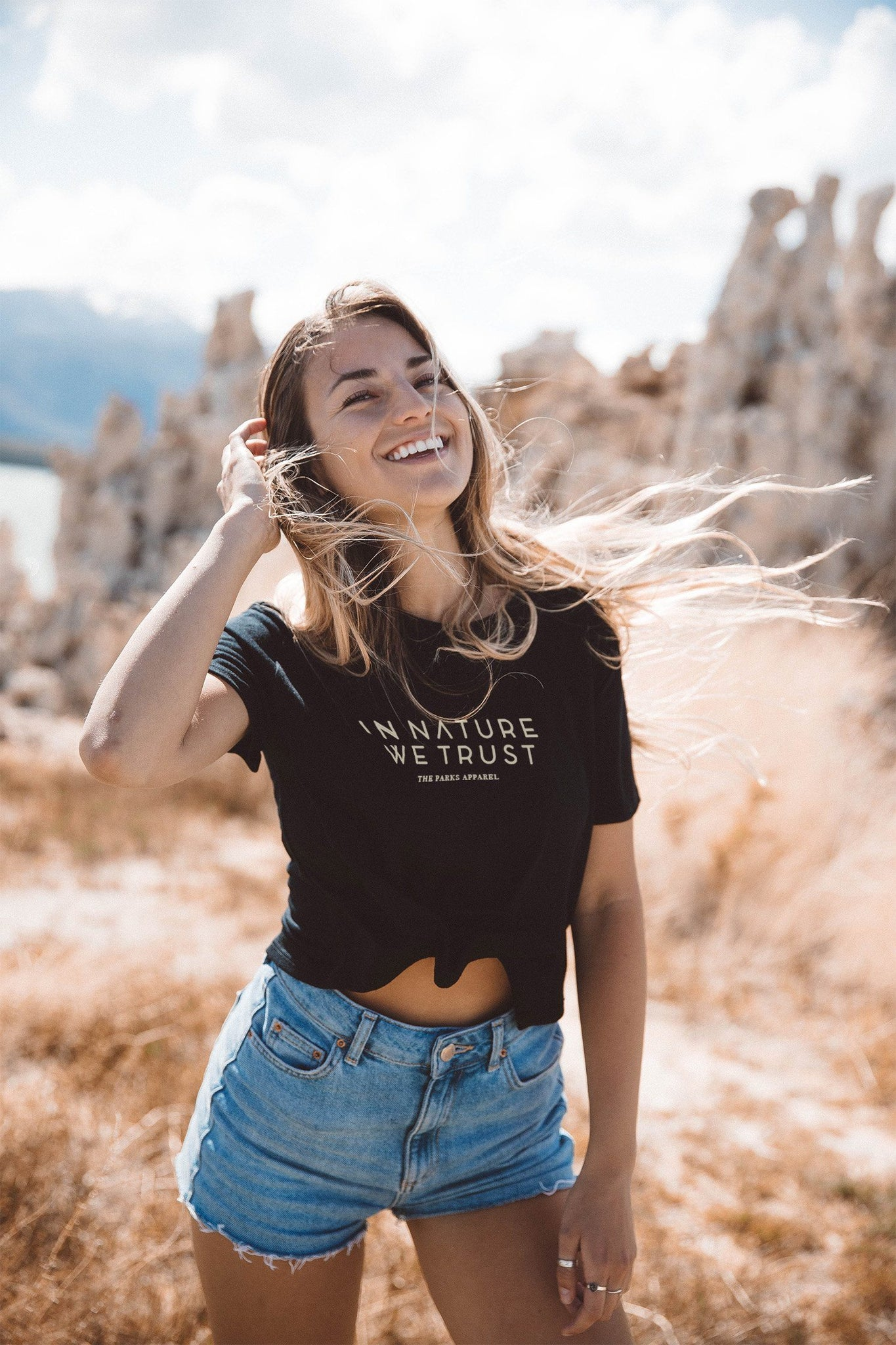 The Parks In Nature We Trust Cropped Tee - The Parks Apparel