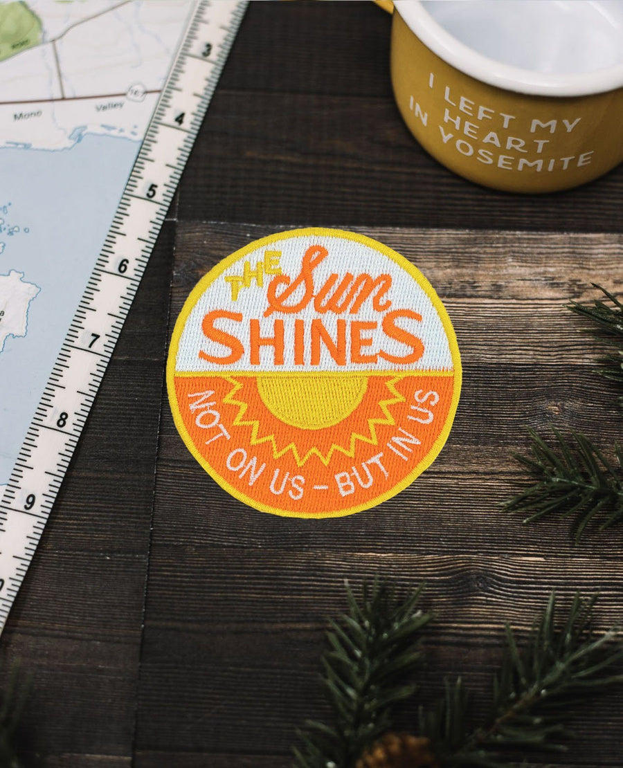 The Sun Shines Patch - Wondery, A Parks Apparel Brand