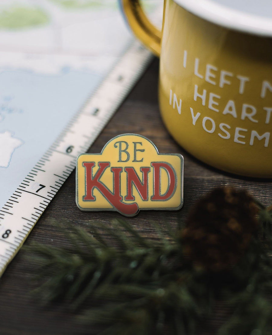 Be Kind Pin - Wondery, A Parks Apparel Brand