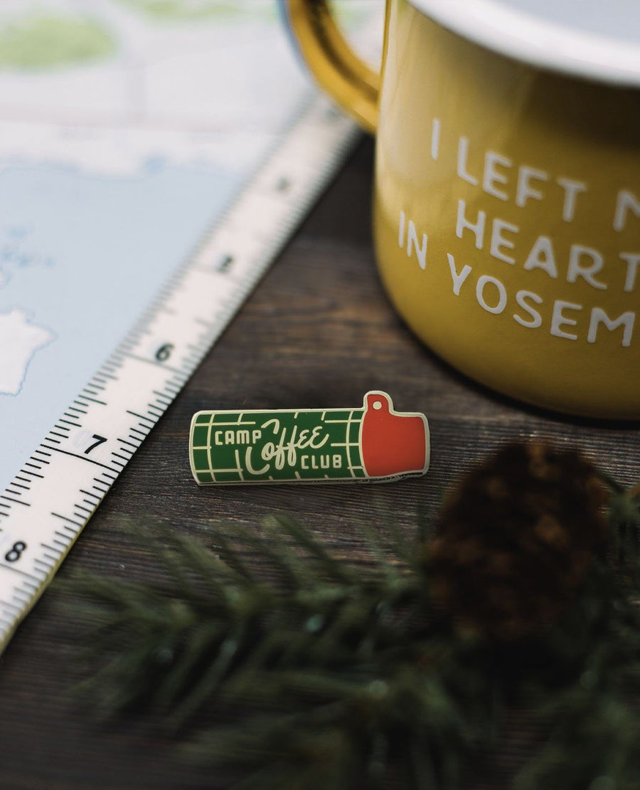 Camp Coffee Club Pin - Wondery, A Parks Apparel Brand