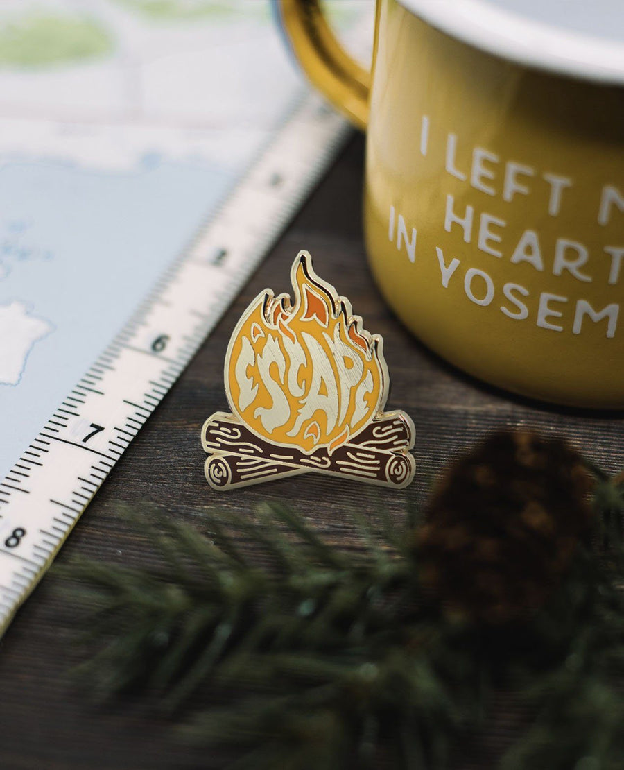 Escape Pin - Wondery, A Parks Apparel Brand