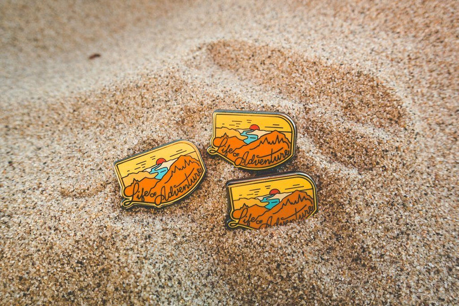 Life of Adventure Pin - Wondery, A Parks Apparel Brand