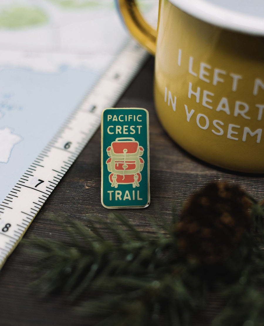 Pacific Crest Trail Pin - Wondery, A Parks Apparel Brand