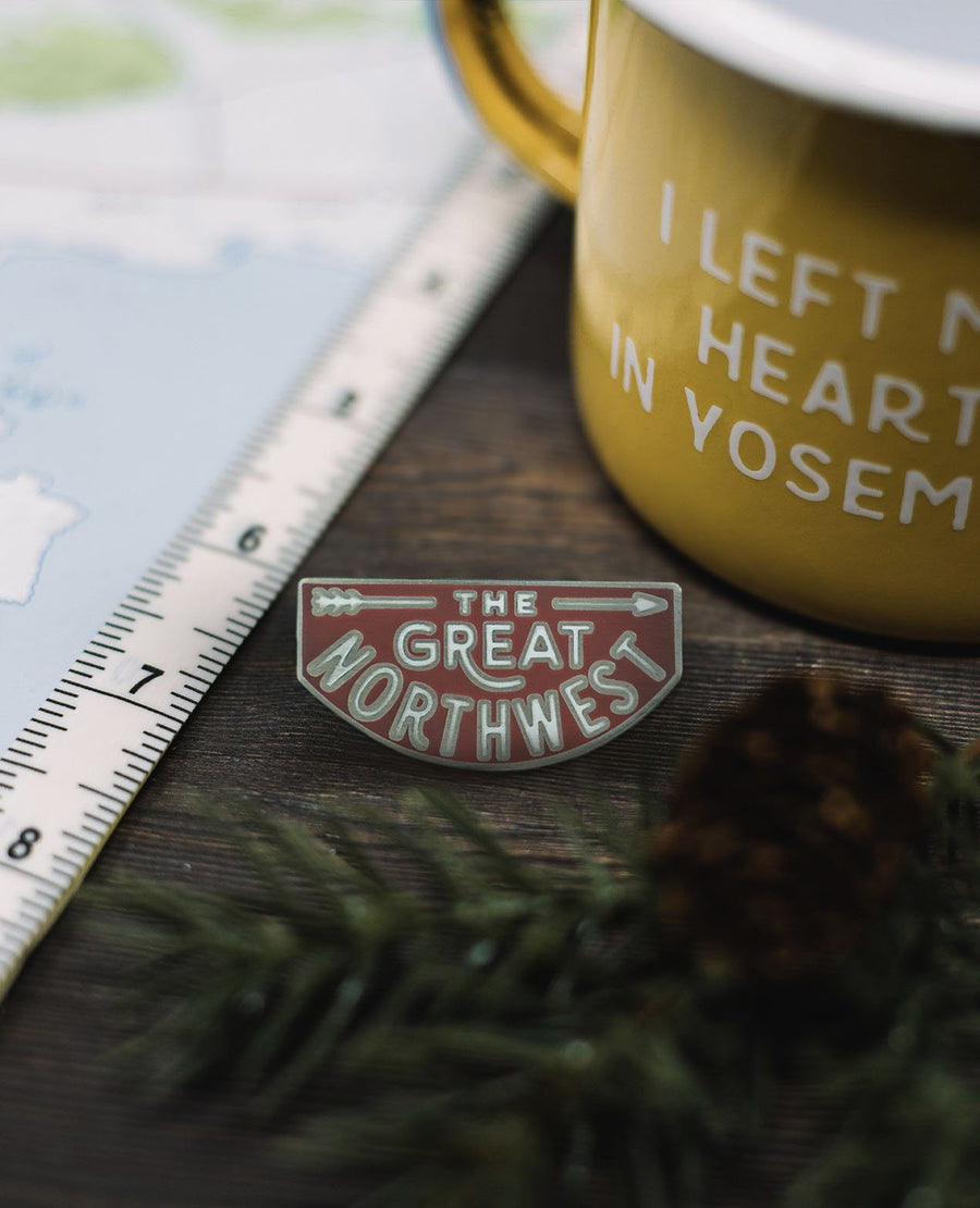 The Great Northwest Pin - Wondery, A Parks Apparel Brand