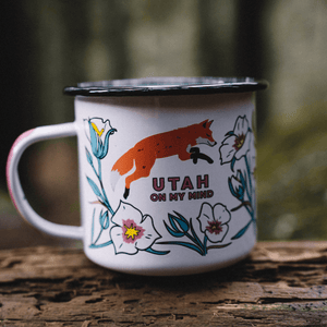 Utah on my Mind Enamel Mug