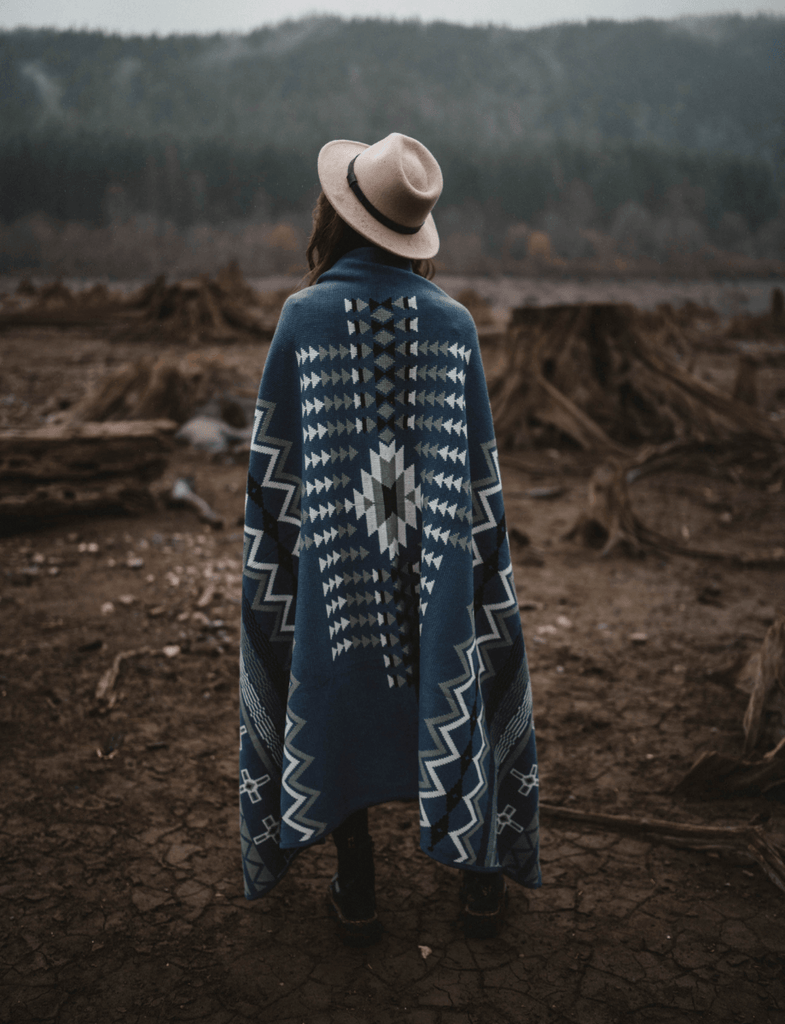 Explorer Blanket | Junapera Blue - Wondery