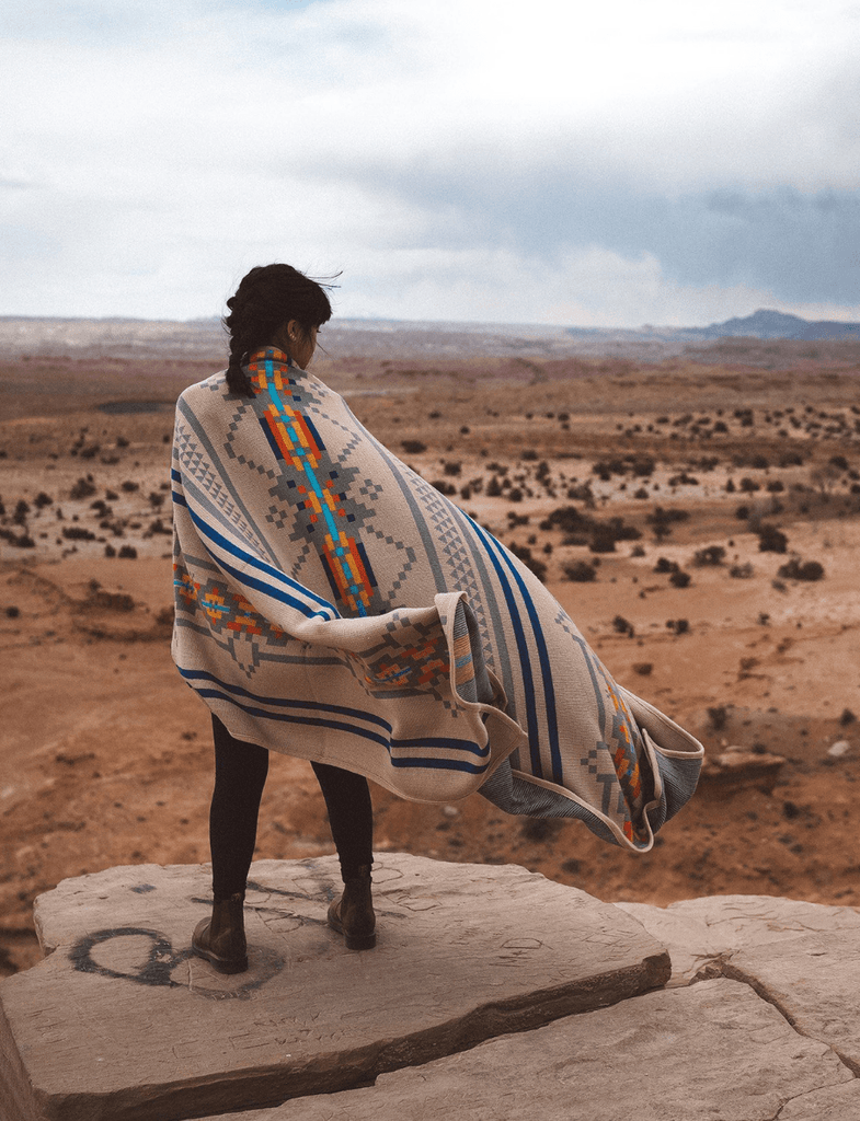 Explorer Blanket | Wildly Dunes - Wondery