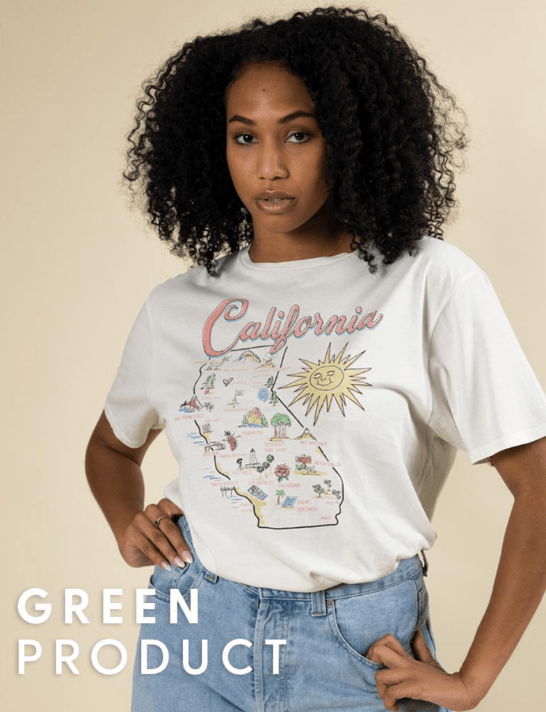 California Map Tee - Wondery
