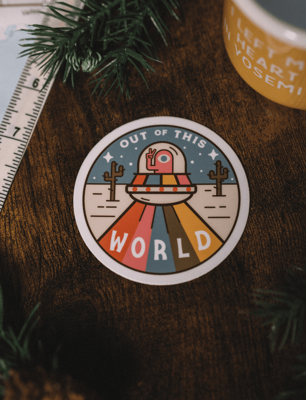 Out Of This World Sticker 1