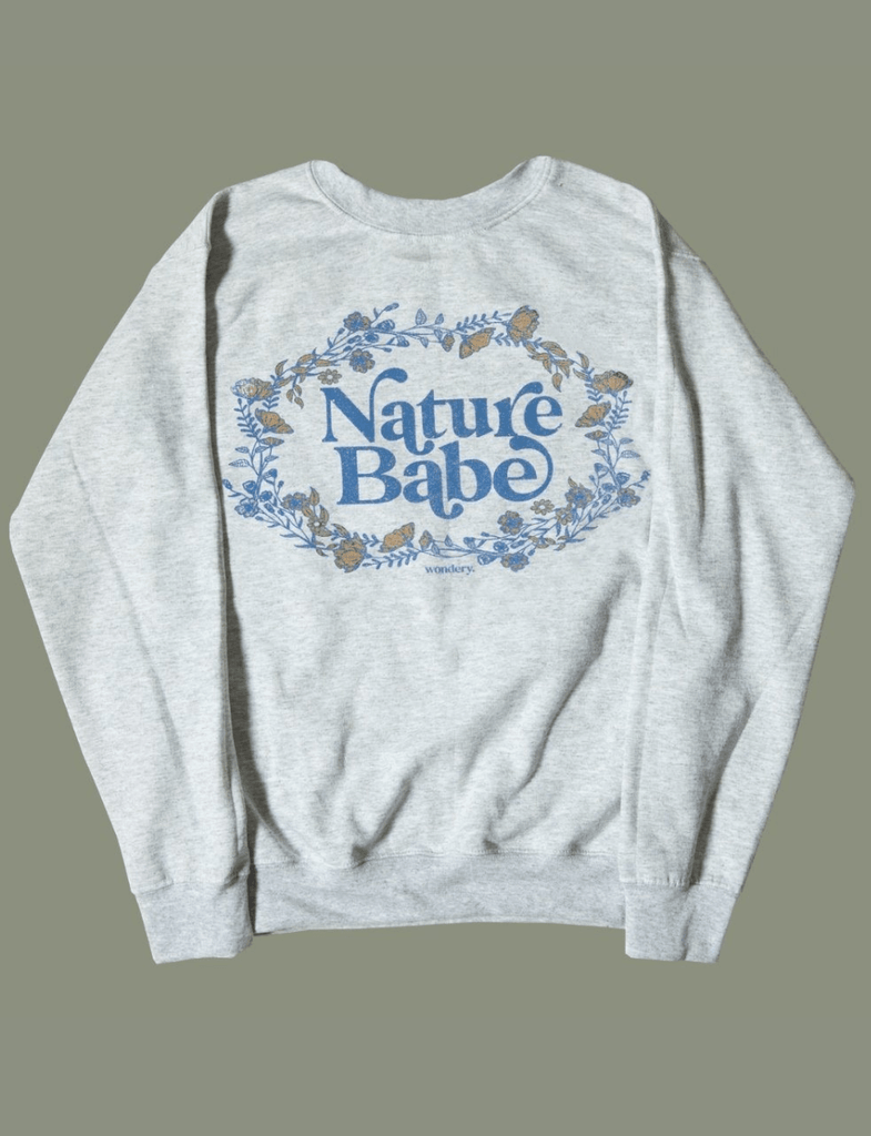 Nature Babe Crewneck - Wondery