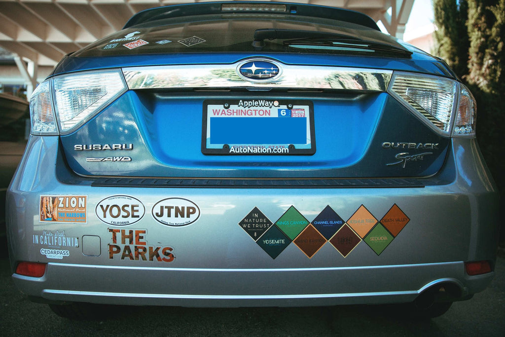 The parks national park passport stickers