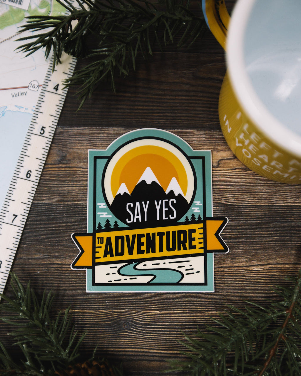 Say Yes to Adventure #2 - The Parks Apparel