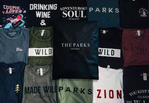Women's Monthly Adventure Tee Subscription - The Parks Apparel