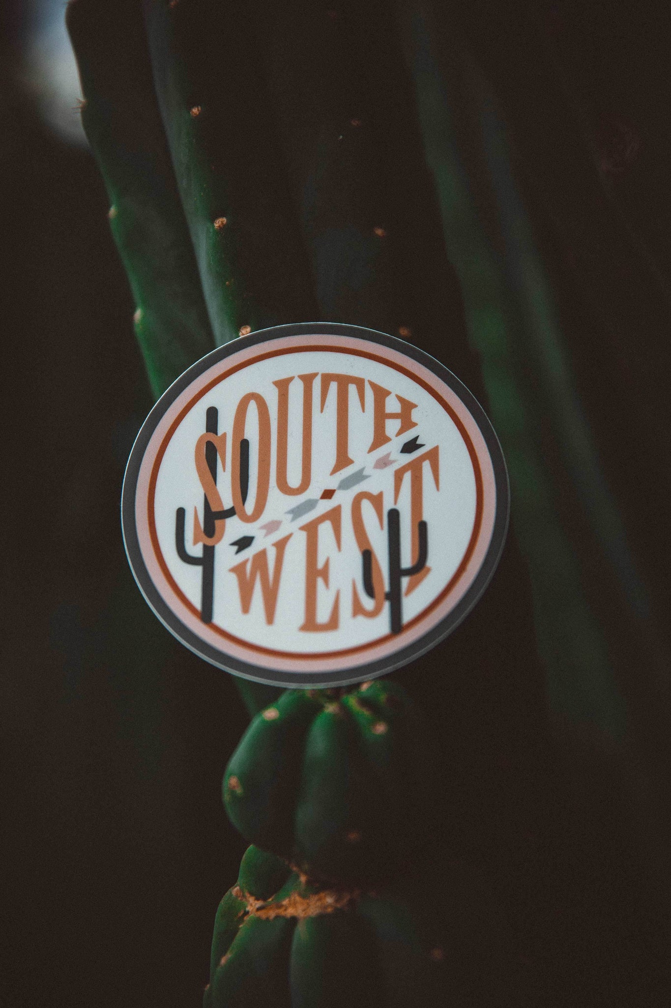 The Parks Regions: Southwest Sticker - The Parks Apparel
