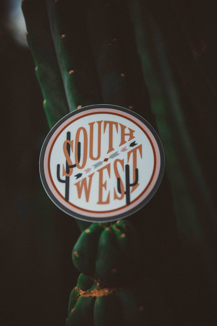 Southwest Sticker - Wondery, A Parks Apparel Brand