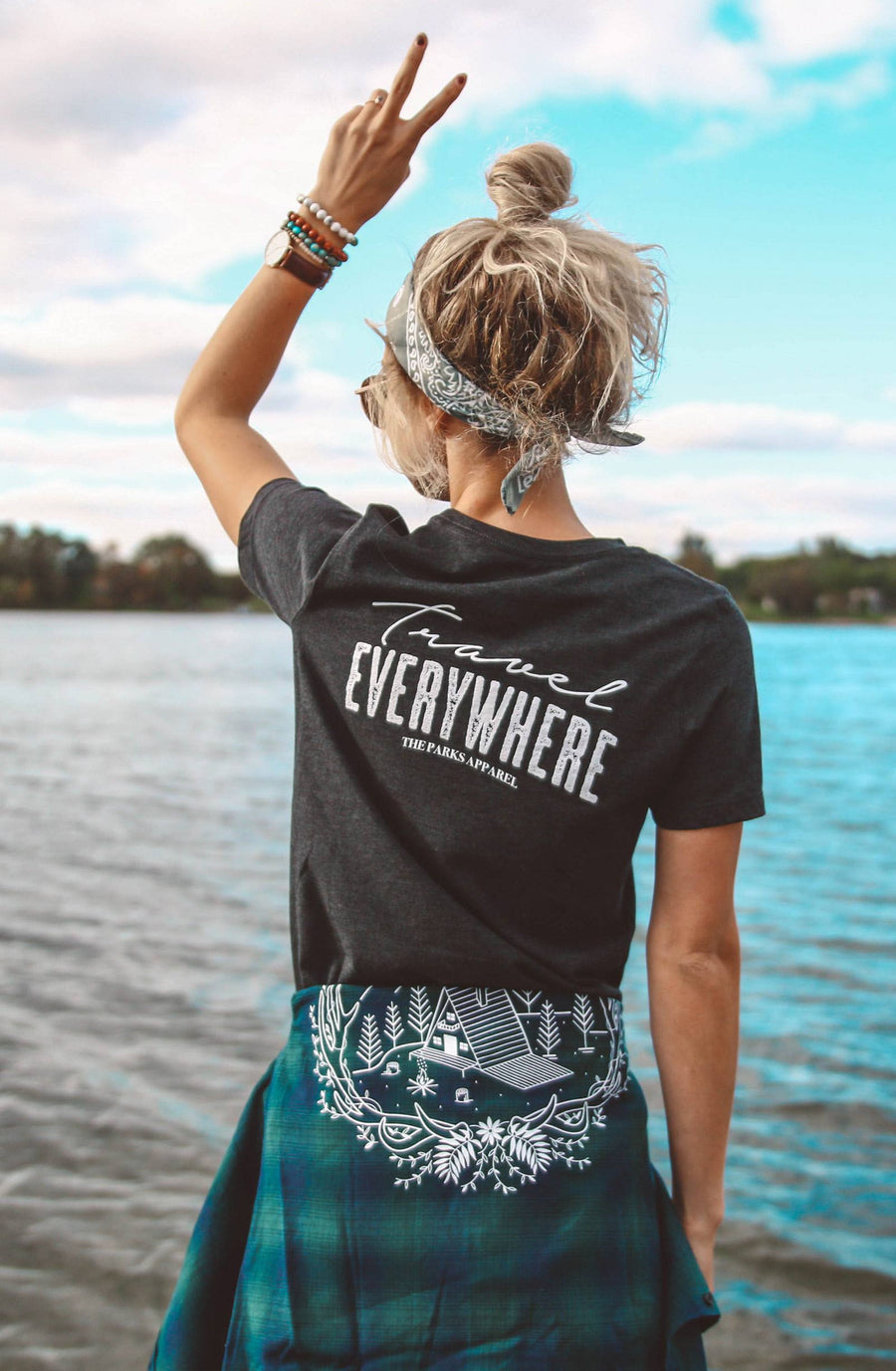 Travel Everywhere Tee (Backordered) - Wondery, A Parks Apparel Brand