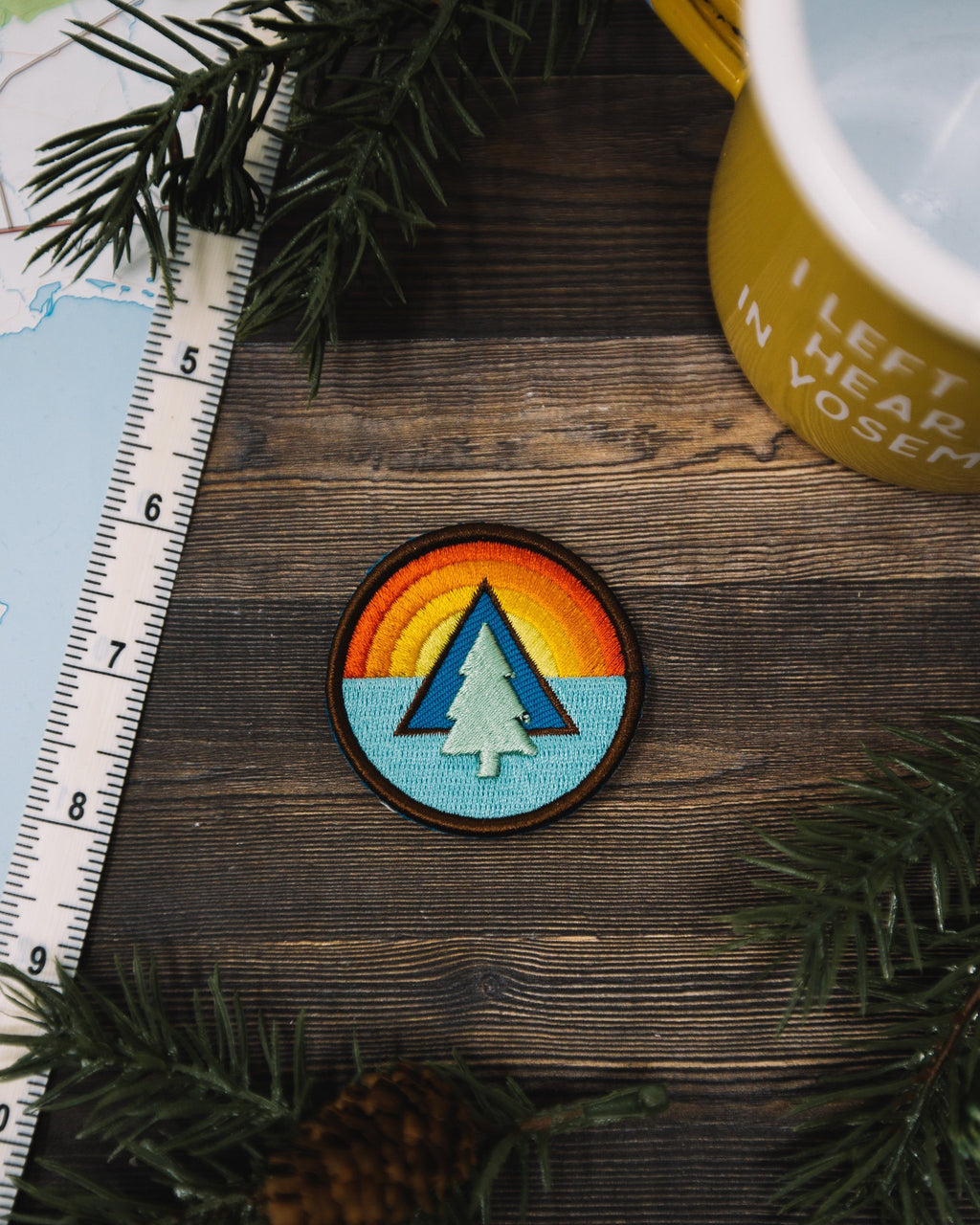 Tree Sunrise Patch - The Parks Apparel