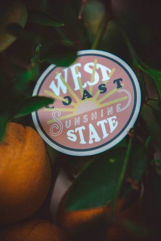 The Parks Regions: West Coast Sticker