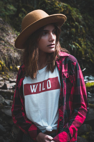 WILD Women's Muscle Tank - The Parks Apparel