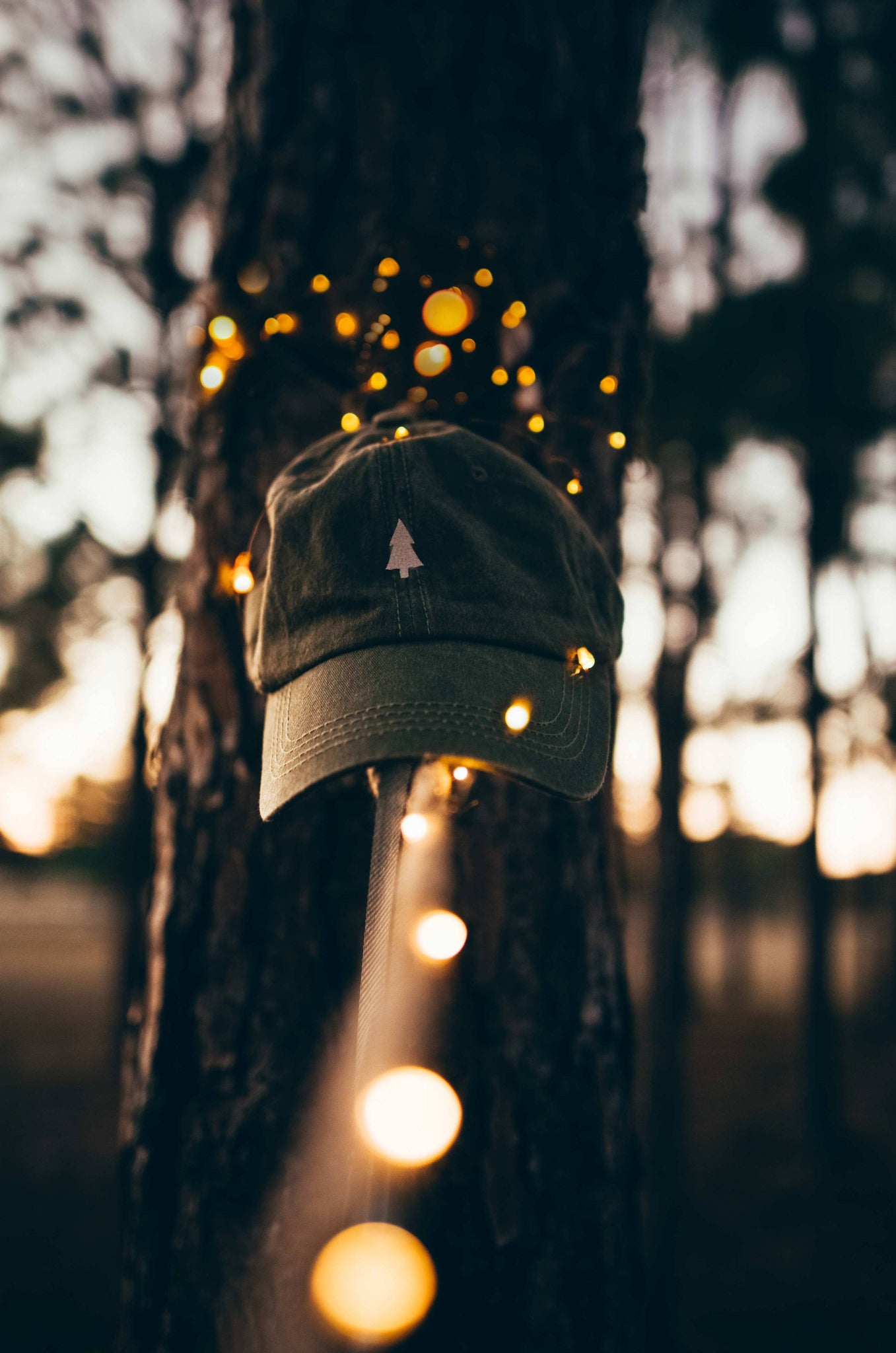The Parks Pine Tree Dad Hat - The Parks Apparel