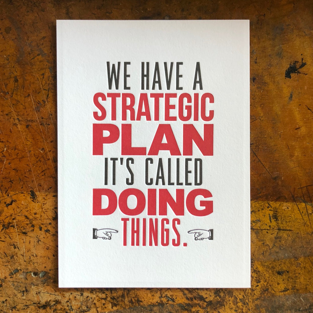 Strategic Plan 5x7