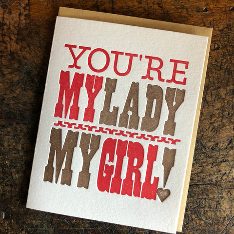 You're My Lady Card