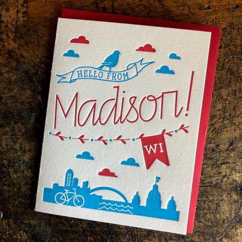 Hello from Madison!