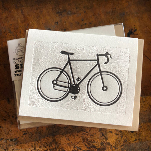 Bike & Topographic Map Cards