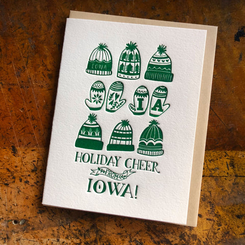 Holiday Cheer from Iowa card