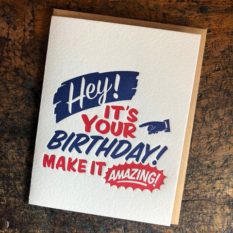 Birthday Amazing Card