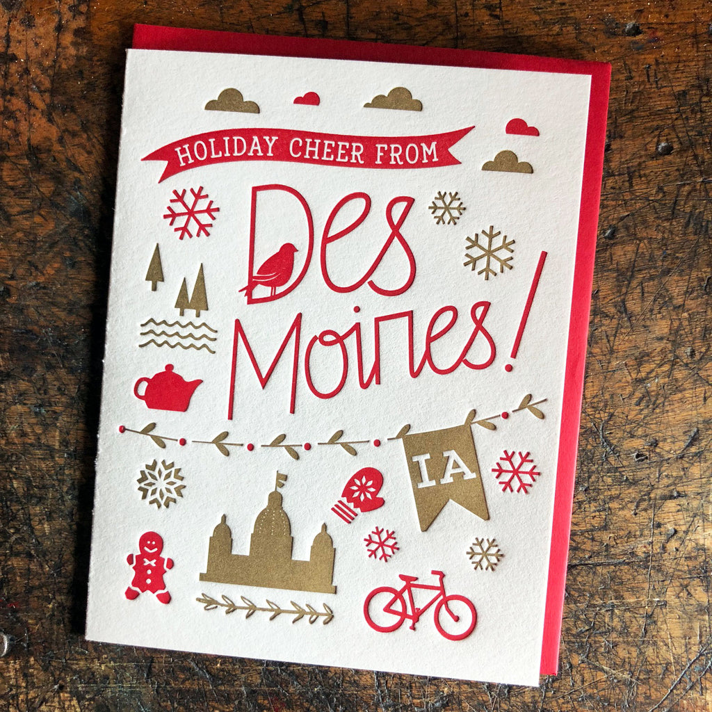 Holiday Cheer Card from Des Moines