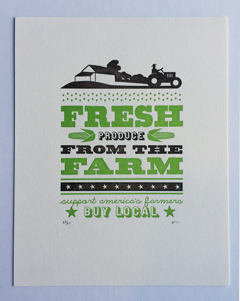 the permanent collection farm fresh print