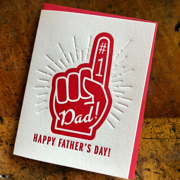Happy Father's Day Foam Hand