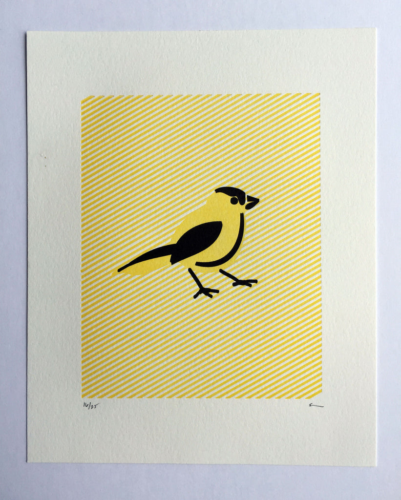 Goldfinch (low) Print