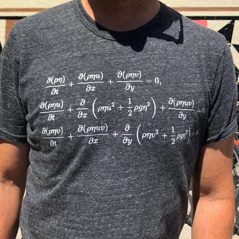 St Venant Equations (Shallow Water Equations) T Shirt