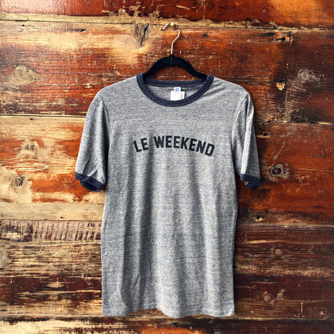 Le Weekend Unisex T-shirt