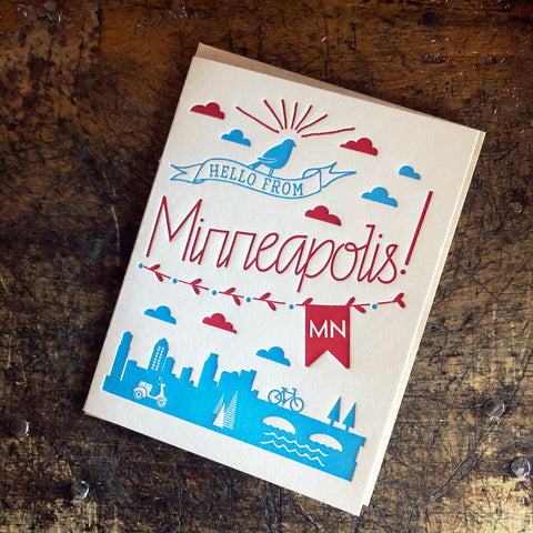 Hello from Minneapolis!