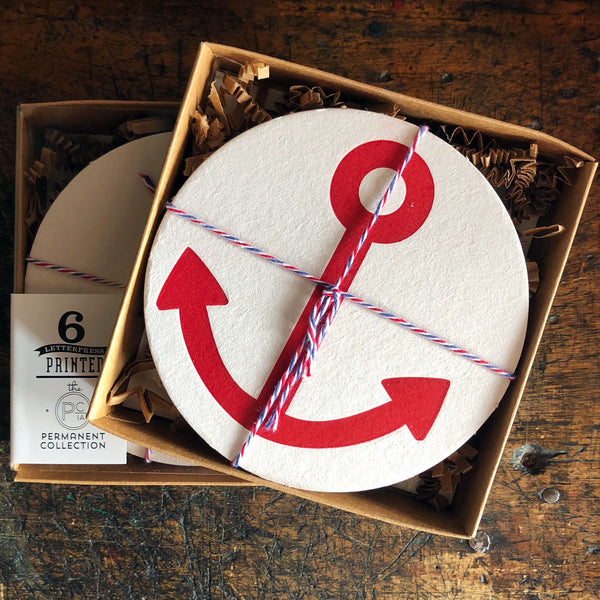 Anchors Coaster