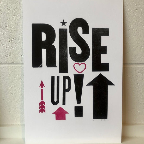 Rise Up Print